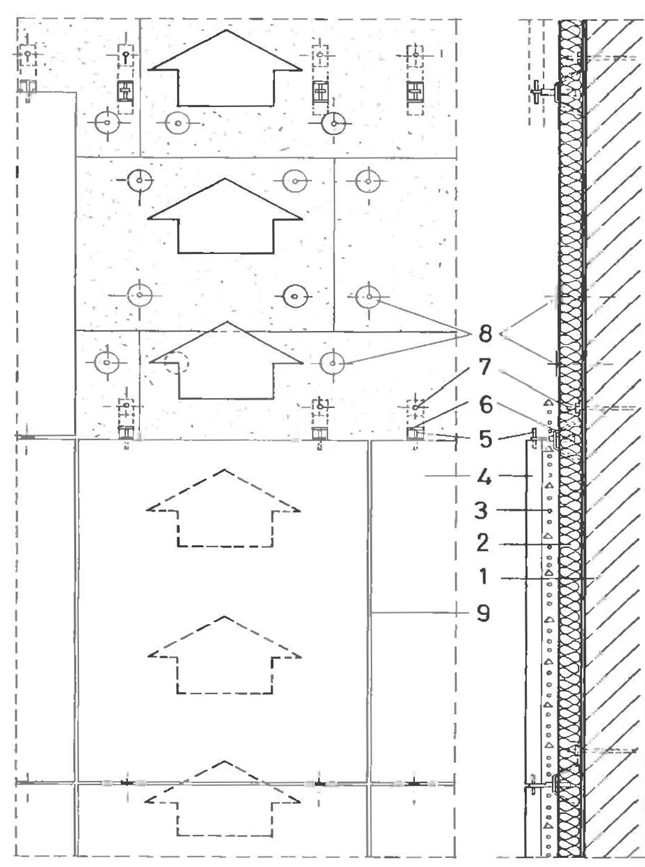 061512 0909 2 Стены оболочки с каменным покрытием