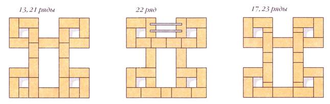 070812 1055 8 Печь с тремя нишами