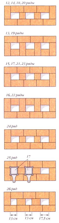 071912 2039 11 Печь со щитком (вариант 3)