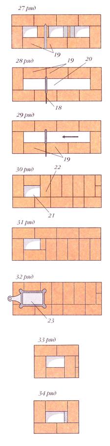 071912 2039 12 Печь со щитком (вариант 3)