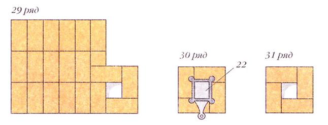 120412 1813 25 Печь с плитой и камнями над топкой