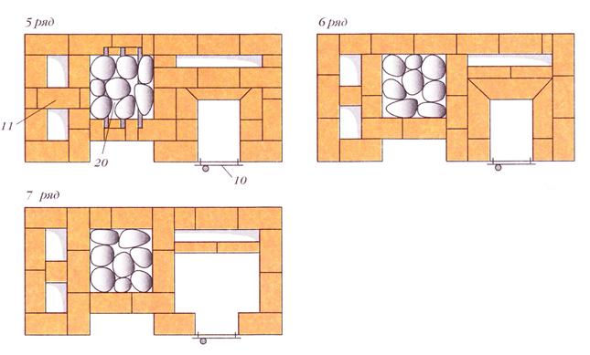 120412 1813 6 Печь с котлом и камерой каменкой