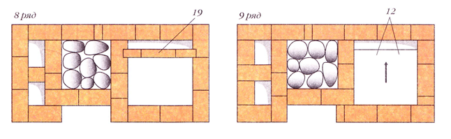 120412 1813 9 Печь с котлом и камерой каменкой