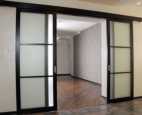 2 Раздвижные межкомнатные двери