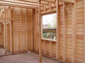 35 300x224 Монтирование оконных и дверных коробок деревянной бани