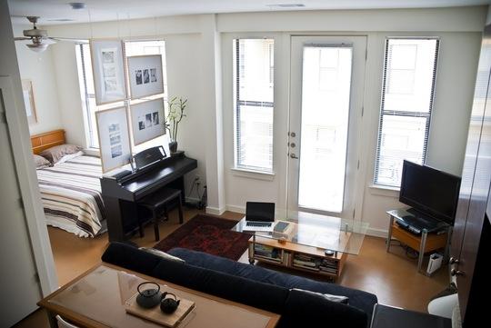 interer gostinoj v odnokomnatnoj kvartire Как распланировать небольшую квартиру?