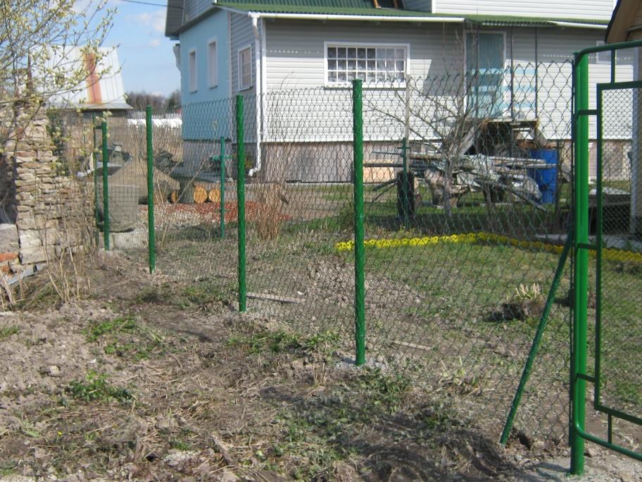 sr2 Забор из сетки рабица