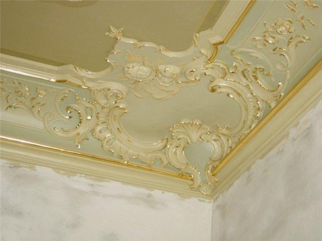 lep 2 Подчеркните стиль интерьера с помощью потолочной лепнины