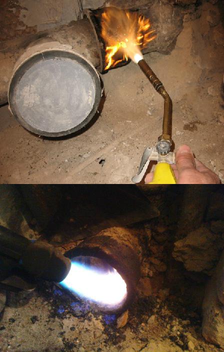 2 Демонтаж чугунной канализации