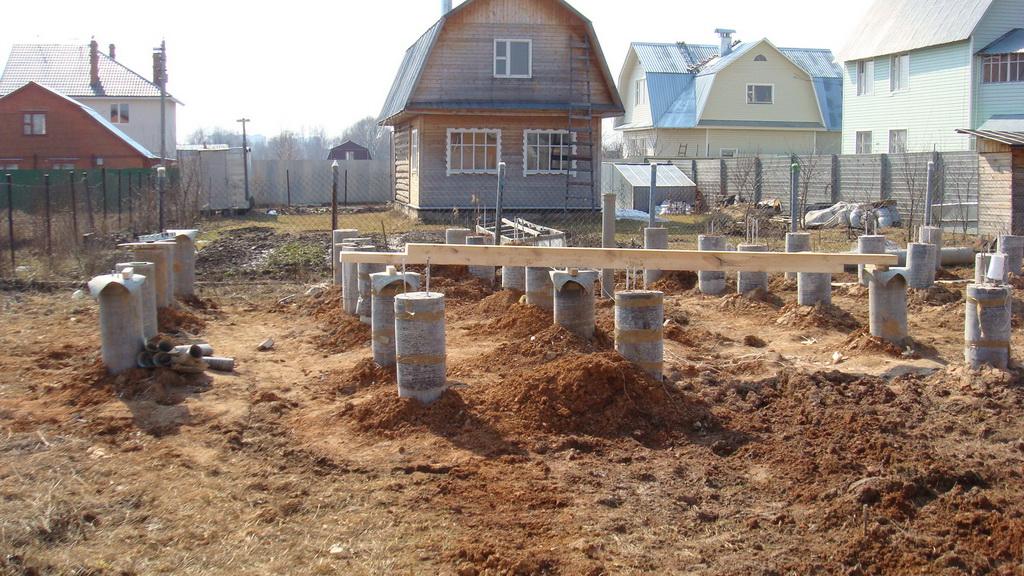 6 Виды конструкций и устройство фундаментов для частного дома