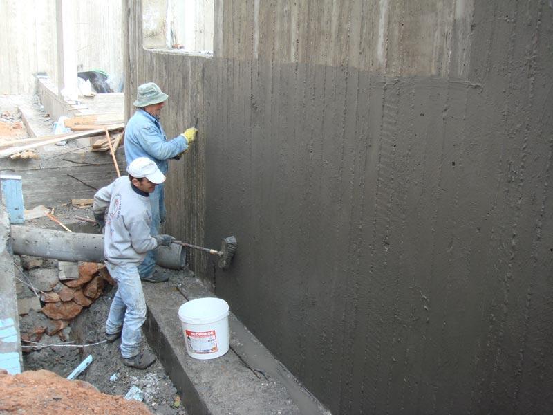 31 Строительные смеси для гидроизоляции бетона