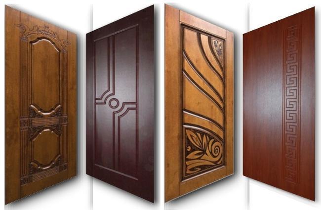 41 Основные виды материалов для обивки дверной конструкции