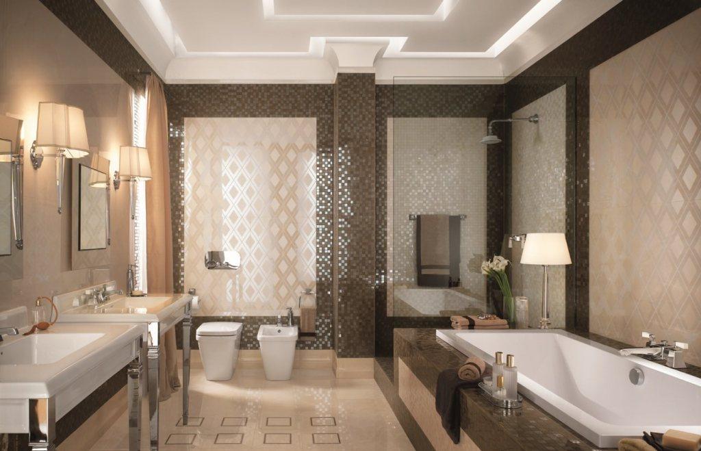 21 1024x659 Цвет в интерьере ванной комнаты