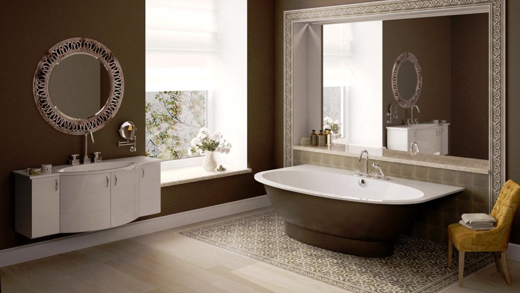 41 1024x578 Цвет в интерьере ванной комнаты