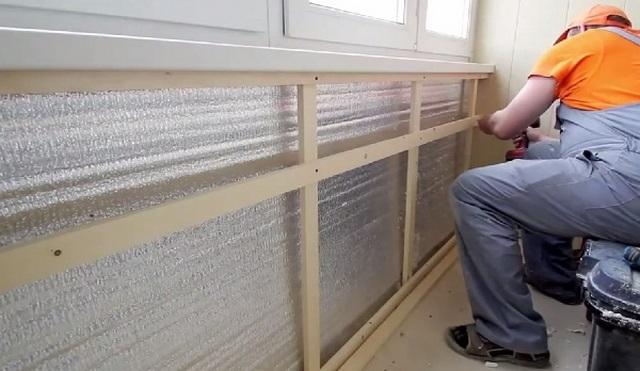 1 Утепление балкона своими руками