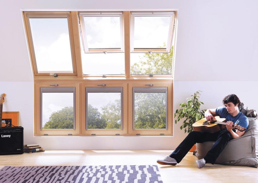 22 1024x725 Карнизные окна и их роль в интерьере