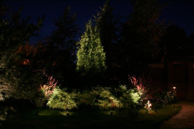 25 Ландшафтные светильники и лампы уличного освещения в организации наружного освещения