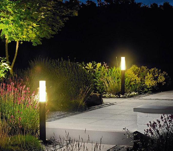 35 Ландшафтные светильники и лампы уличного освещения в организации наружного освещения
