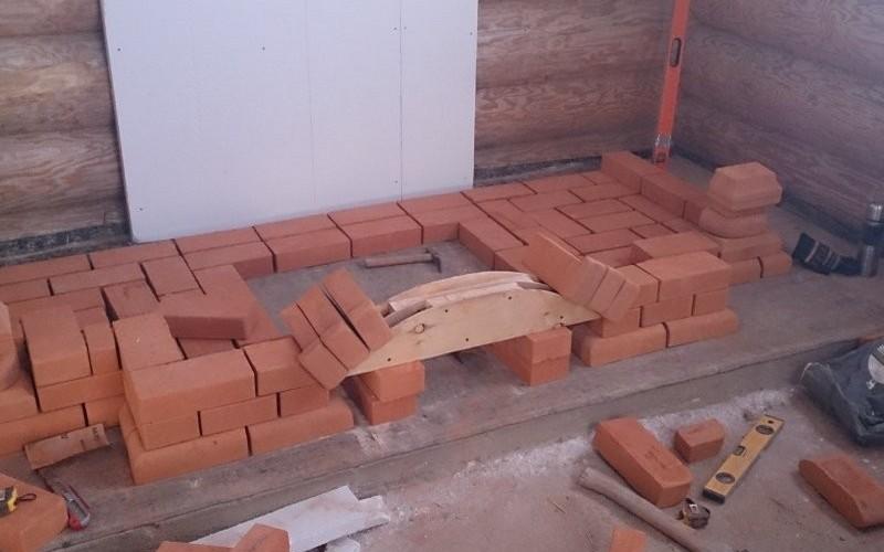 23 Как построить камин из кирпича своими руками? Пошаговое руководство. Продолжение