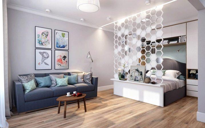 113 Перепланировка однокомнатной квартиры – расширение пространства