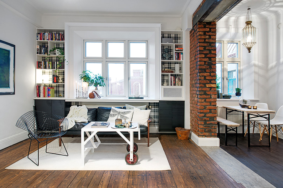 212 Перепланировка однокомнатной квартиры – расширение пространства