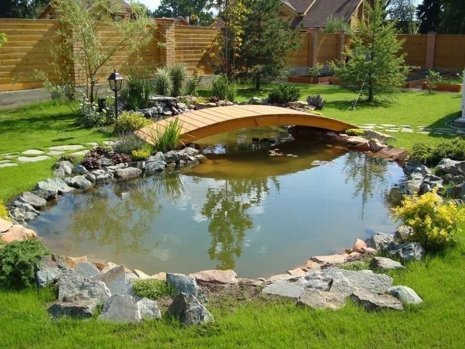 34 Пруд в саду, основные принципы создания