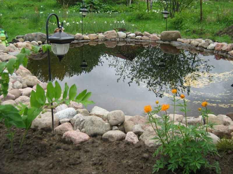 35 Как своими руками построить искусственный водоём на загородном участке