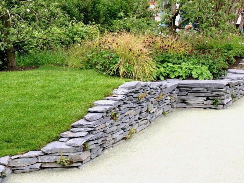 310 Подпорные стенки в ландшафтном дизайне