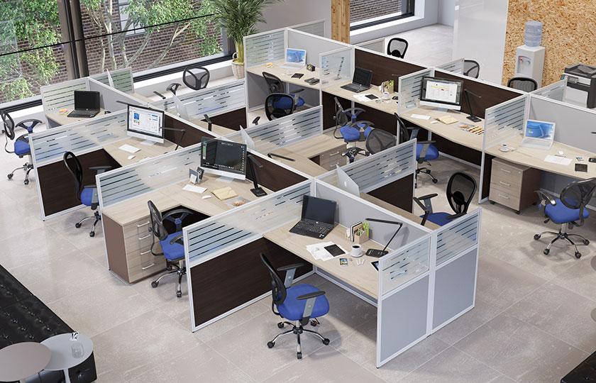 1 Офисные перегородки