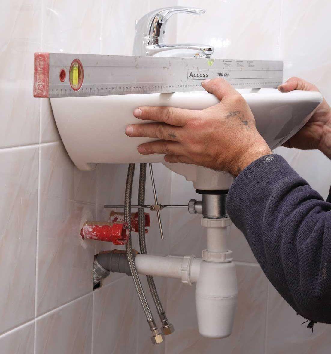 3 Замена раковины в ванной комнате. Как самостоятельно выполнить монтаж сантехники