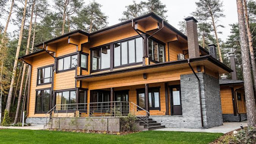 11 Что такое дом из клеенного бруса
