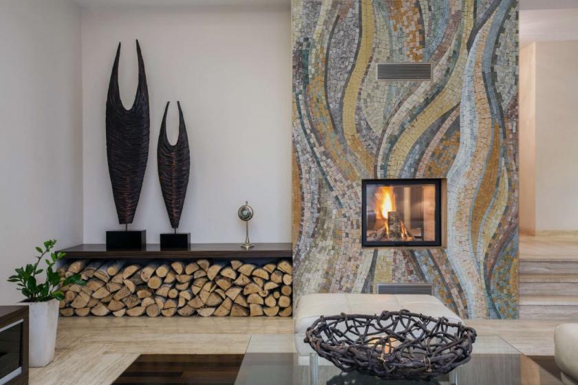 1 Немецкая мозаика в интерьере вашего дома
