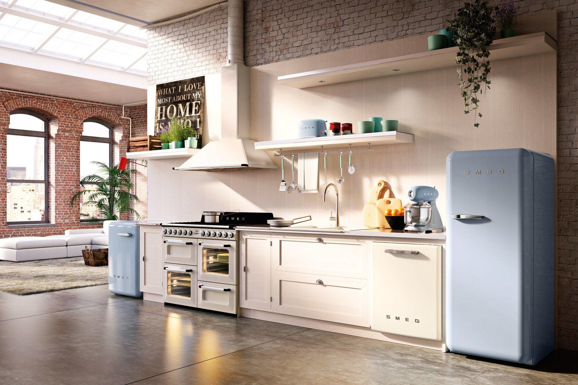 2 Как правильно расставить на кухне бытовую технику